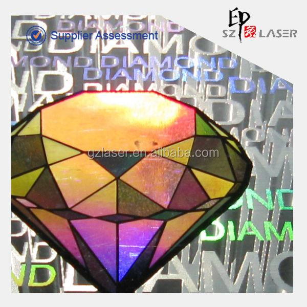 Fashionable custom design laser holographic car hood sticker