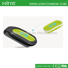 keep fit with J-style rechargeable wristband step counter 3d wristband usb fashion design free pedometer 2013
