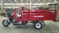 tipper for Somalia Hydraulic dump cargo truck three wheel motorcycle