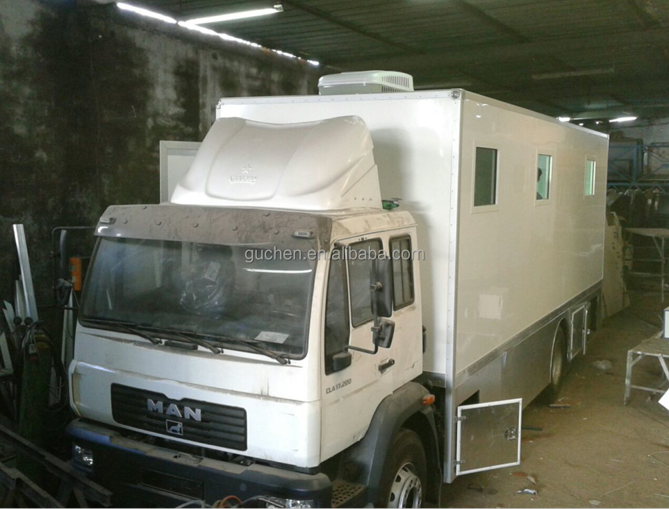 top quality CKD mobile clinic truck body with 50mm thickness panels