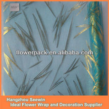 Beautiful design of floral organza fabric decoration