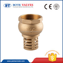"1/2""-4"" Forged Water Pump Foot Valve,low price Brass foot valve"