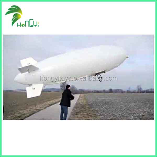 Inflatable RC Zeppelin Model / RC Remote Control Blimp