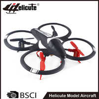 Black quadcopter toy 4ch rc helicopter drone with camera