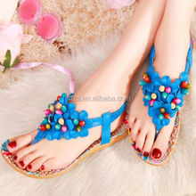 HFR-T0024 fashion Roman flat summer sandals 2014 for women cheap wholesale sandals