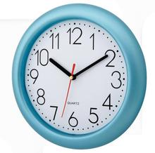 Promotional Plastic Round Shape Wall Clock For Gift