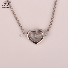 Factory direct sale diamond heart shape cute infinity charm pendant bracelets