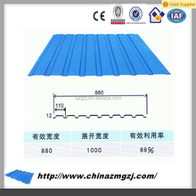galvanized steel color roof with price