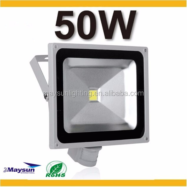 maysun Factory long distance 50w led flood light pir HID flood lights for fishing