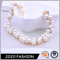 Two 2 Row High End Fashion Jewelry Accessories Wholesale Imitation Pearl Necklace