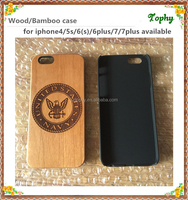 Natural Carved Custom Wooden Hard Phone Cover Cases Protect For iPhone 5 5S 6 6s 6sPlus