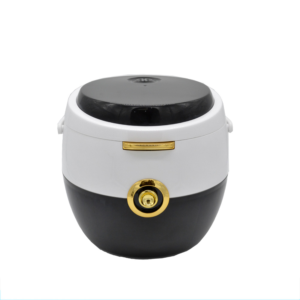Drum Shape Small Personal Mini Portable Rice Cooker With Non Stick Inner Pot