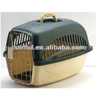 Flight Cage, Airplane Cage, Plastic walking dog carrier