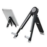 "Metal Folding Triangle Stand Lazy Bed Holder for iPad mini 4 for Samsung Galaxy Tab for 7"" Tablet PC"