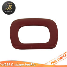 Wholesale various fabric covered belt buckle shoe accessories for women shoe buckle