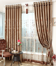 Chinese Style Vintage Embroidery Flower Pattern Bead Curtain Design