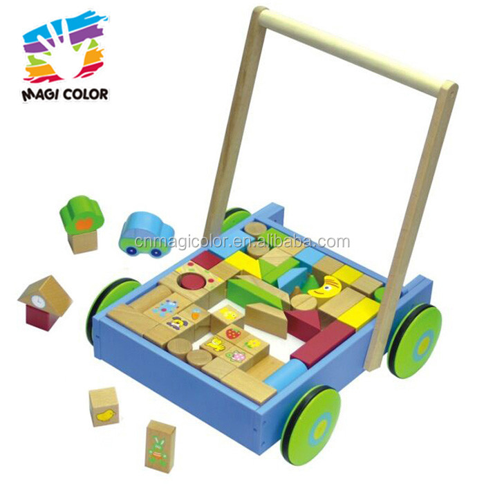 2016 wholesale baby wooden block car,hottest kids wooden block car,educational children wooden block car W13C024
