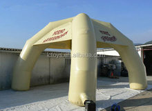 four legs inflatable arch tent for advertising and promotion