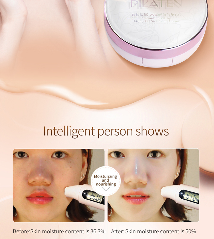 Pilaten Natural CC Color Correcting Make Up Cream