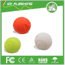 Running Dog Ball Flashing Style Pet Love Dog Toy Ball Bitable FDA Silicone Dog Chew Toy