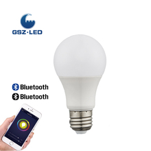 7W E27 Color Changing RGBW Smart LED Bluetooth Bulb Light
