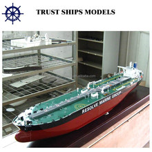 Latest oil tanker ship model,ship model for business gifts