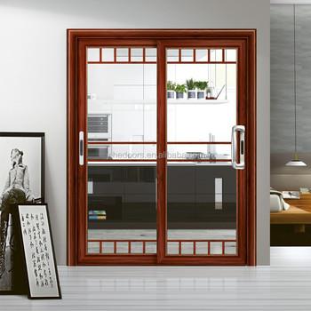 Kitchen sliding strip aluminum door buy china aluminum door price aluminum doors exterior - Kitchen sliding door price ...