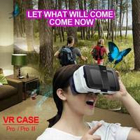 2016 New Products Google cardboard Virtual Reality 3D Glasses Fits for ios Android VR CASE