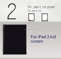 spare parts for ipad 2 lcd screen touch digitizer assembly