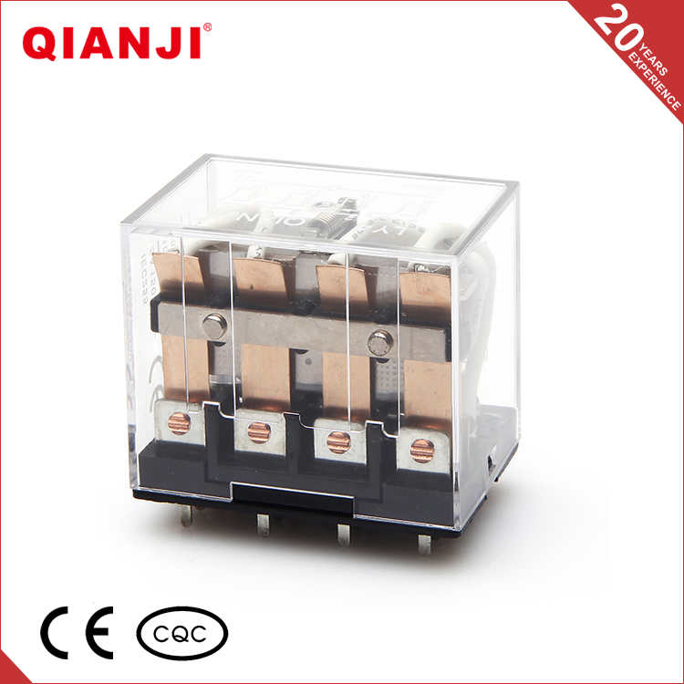 QIANJI China 14 Pin 10A LY4 LY4NJ Electrical Motor Protection PCB Relay