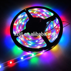 5m 30 Pixels/m 30leds Individually Addressable WS2812B WS2812 5050 RGB LED Strip 5V