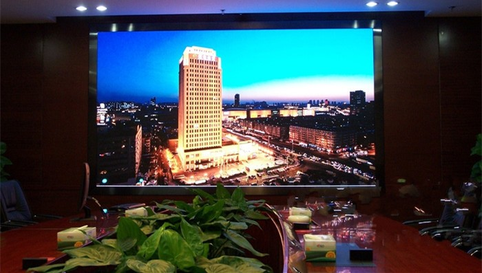 small spacing HD and high density P1.25 LED screen