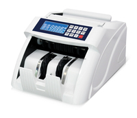AL-5600 Professional Bank Note Counter Money Counting Machine with UV+MG Detection Suitable for Multi Currency