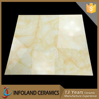 Foshan Designer Nano Glazed Polished Stone Floor Tile Price