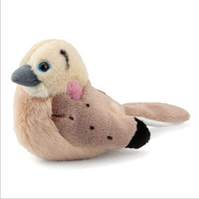 Wholesale Cheap Custom Love Birds Stuffed Plush Bird Toys