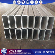 factory price ERW welded hot rolled black galvanized carbon square steel pipe rectangular tube 200x200x3