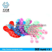 factory wholesale silicone both side glass table suction cups