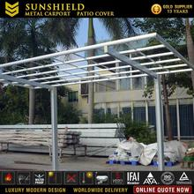 Customized Walkway Polycarbonate Canopy/ Outdoor Metal Car Port