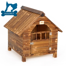 Hot Wooden Dog House With Waterproof Roof