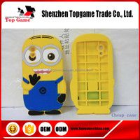 3D Cute Despicable Me Minions Silicone Cell Phone Cases Soft Cover For LG Google Nexus5 E980 D821Case