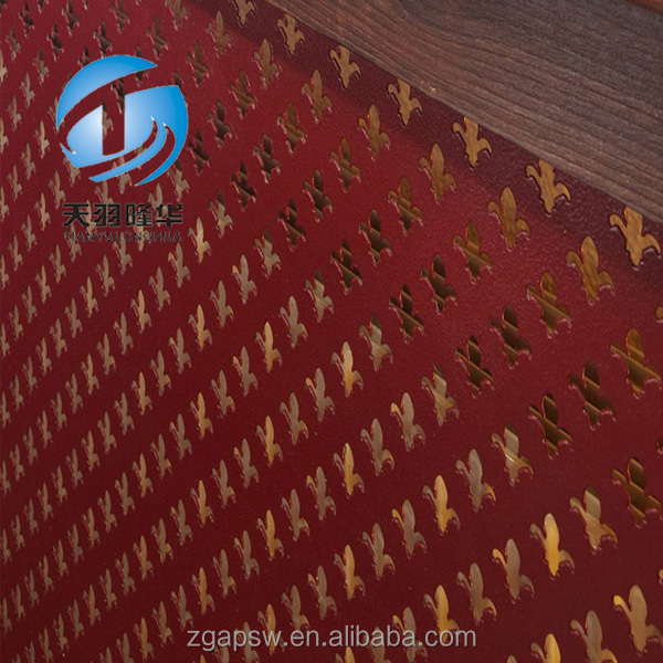 Perforated panel with high quality
