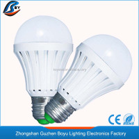High efficiency 7w rechargeable emergency bulb led lighting e27 battery powered