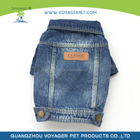 Lovoyager jean dog apparel made in China