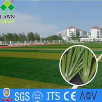 China manufacture artificial grass for football fields