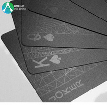 0.4mm Matt Black Rigid PVC Plastic Sheet for Playing Cards