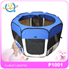 "BLUE Pet Playpen 45"" Exercise Puppy Dog Pen Kennel Folding Design Easy Storage"