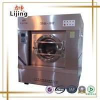 2016 Newly hot sales25kg CE approved stainless steel laundry washing machine with Dryer