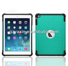Luxury case for apple ipad 6 protect cover / shockproof cover for ipad 6 diamond case / for ipad air 2 heavy duty case
