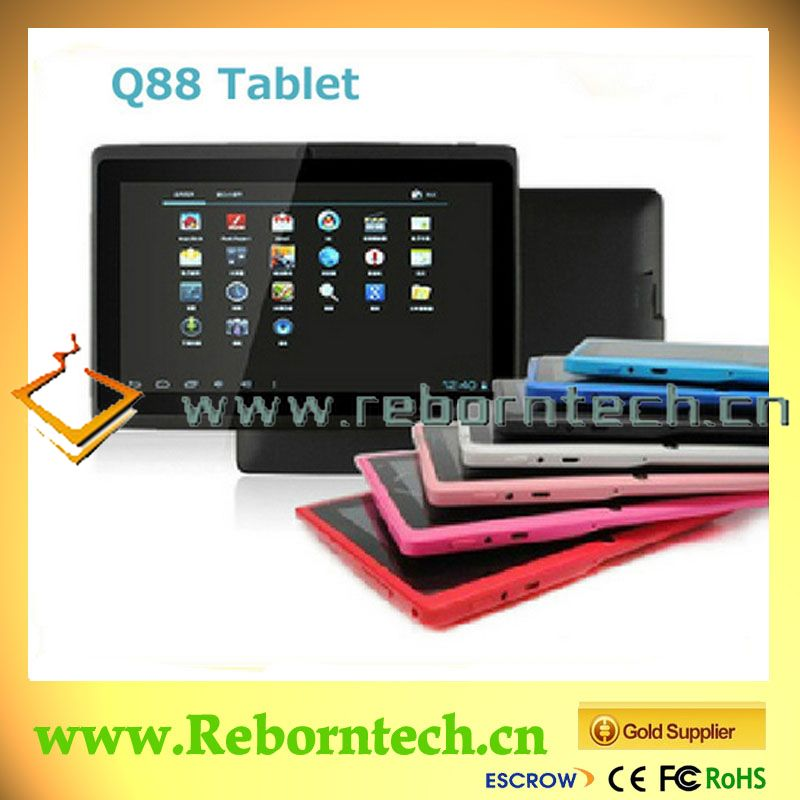 Q88 Allwinner A23 Android 4.2 MID 7 Inch google android Tablet PC With wifi