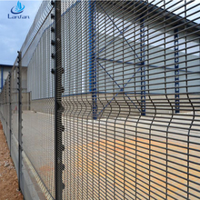 High quality 358 fence,358 security fence,anti climb fencing barbed wire mesh safety airport fence